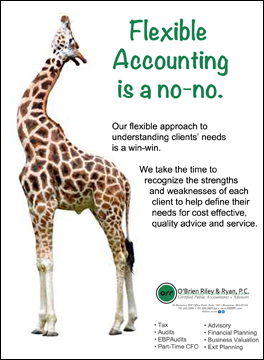 Accounting Flexibility is a no-no