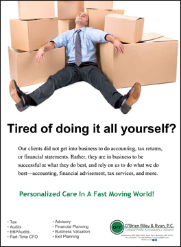 Tired of doing it all yourself?