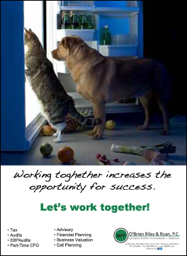 Working together increase opportunity for success