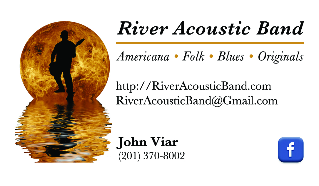 River Acoustic Band Business Card