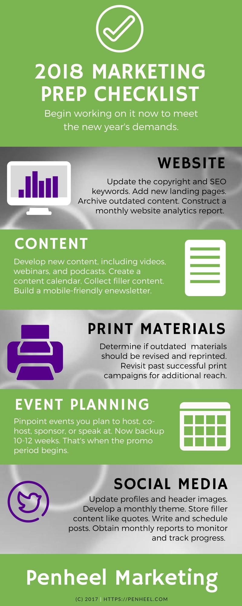 2018 marketing prep checklist_infographic