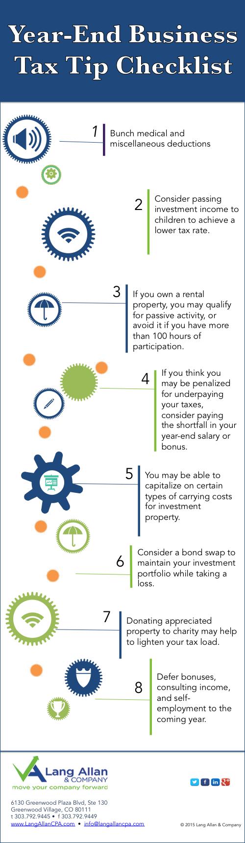 Tax Tips Checklist