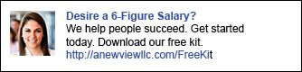LinkedIn Ads_Desire 6 Figure Salary