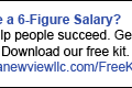 LinkedIn Ads_Desire 6 Figure Salary