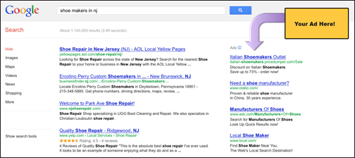 Google-AdWords-Screen Online Advertising