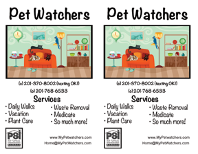 PetWatchers_Flyers Design Portfolio