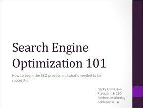 SEO-Slide-Deck-Cover Search Engine Optimization 101