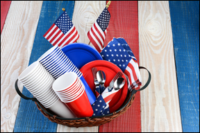 Summer Marketing Tips red, white, blue