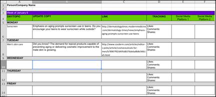 Content-Calendar-Template 20 Favorite Marketing Content Formats
