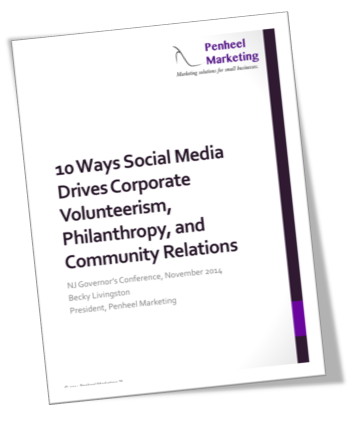 10 Ways Social Media Drives Corporate Volunteerism