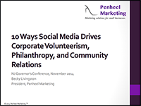 10 Ways Social Media Drives Corporate Volunteerism Cover feature image