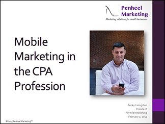 Mobile Marketing in the CPA Profession_eBook cover