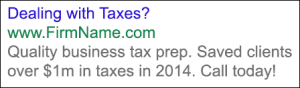 March-Blog_Tax-ad-sample-300x88 5 Post Busy Season Online Ad Tips