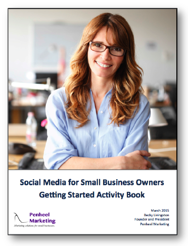 Social Media Activity Book for Business Owners