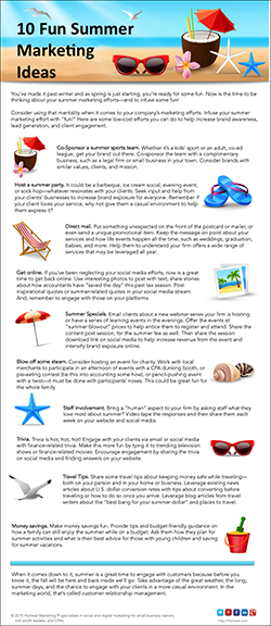 10-Fun-Summer-Marketing-Tips_Infographic_small Design Portfolio