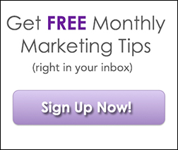 Free monthly marketing tips small