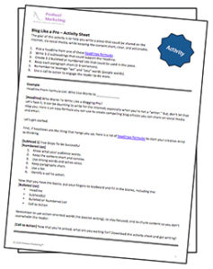 Blog-Like-a-Pro-activity-Sheet-237x300 Blog Like A Pro - Activity Sheet
