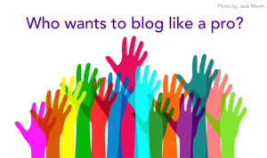 who wants to blog like a pro?