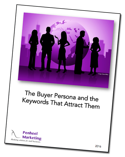 Buyer persona and keyword activity guide cover