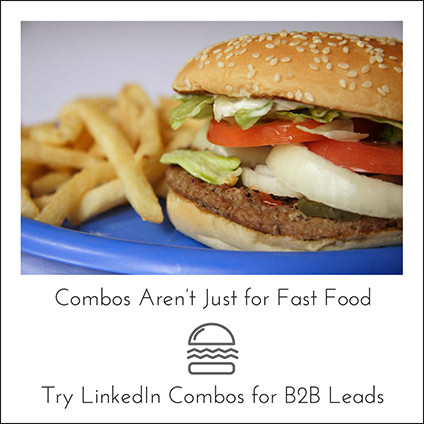 Combos Aren't Just for Fast Food Try LinkedIn Combos for B2B Leads