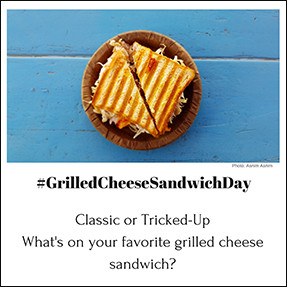 Grilled-Cheese-Sandwich-Day Filler-Up: Content for Those Busy-Season Months