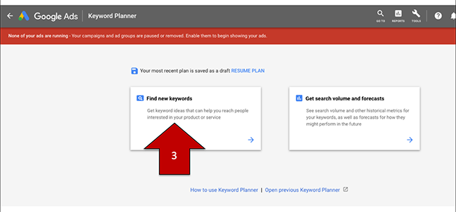 keyword-step-3 How To Use Google's Keyword Planning Tool