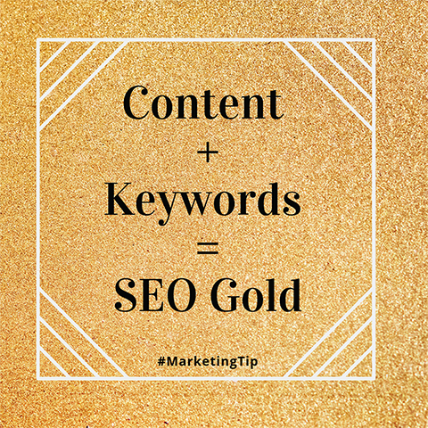 content gold marketing tip twitter