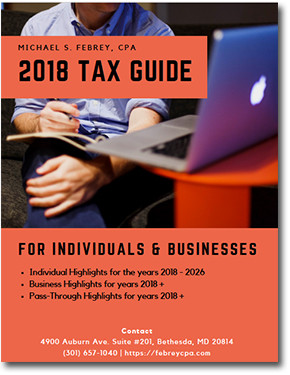 2018-tax-planning-guide-cover Design Portfolio
