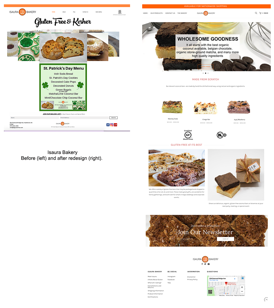Isaura-Bakery-before-and-after Design Portfolio