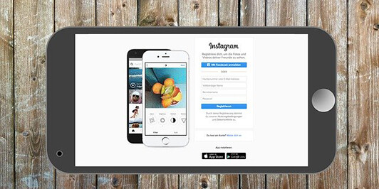 instagram-wood-LI-532x266 How to Post Instagram Ads From Your Phone