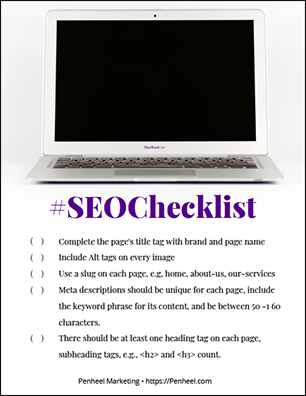 SEO-checklist-small Down and Dirty SEO Checklist